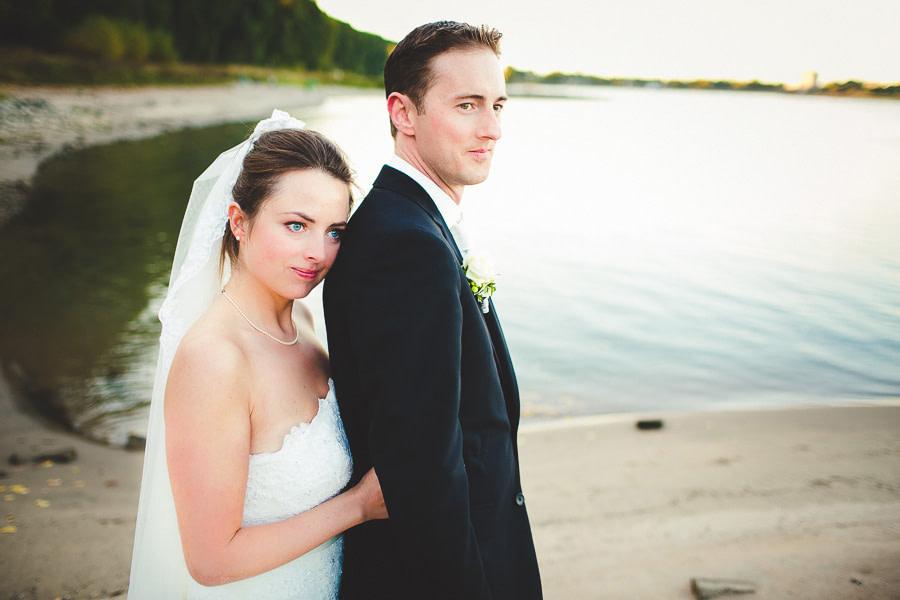 Hochzeitsfoto am Rhein