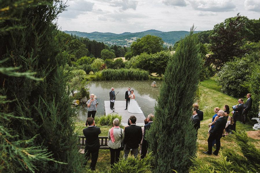 Heiraten am Wasser im Odenwald
