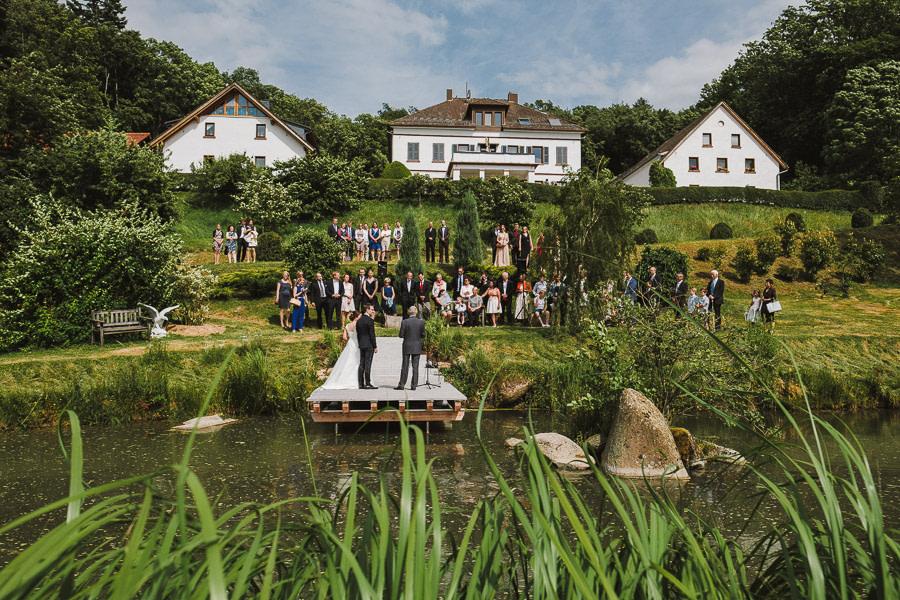 Tolle Hochzeit auf Hofgut Hohenstein