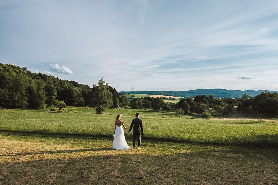 Natürliche Hochzeit in Wiesbaden