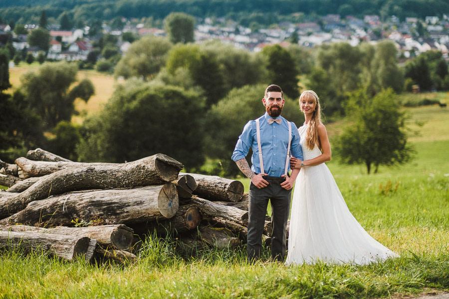 Natürliche Hochzeit im Taunus