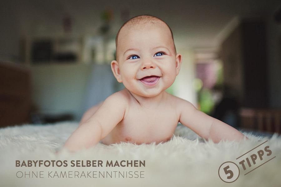 Baby auf dem Bauch Beschriftung Babyfotos selber machen