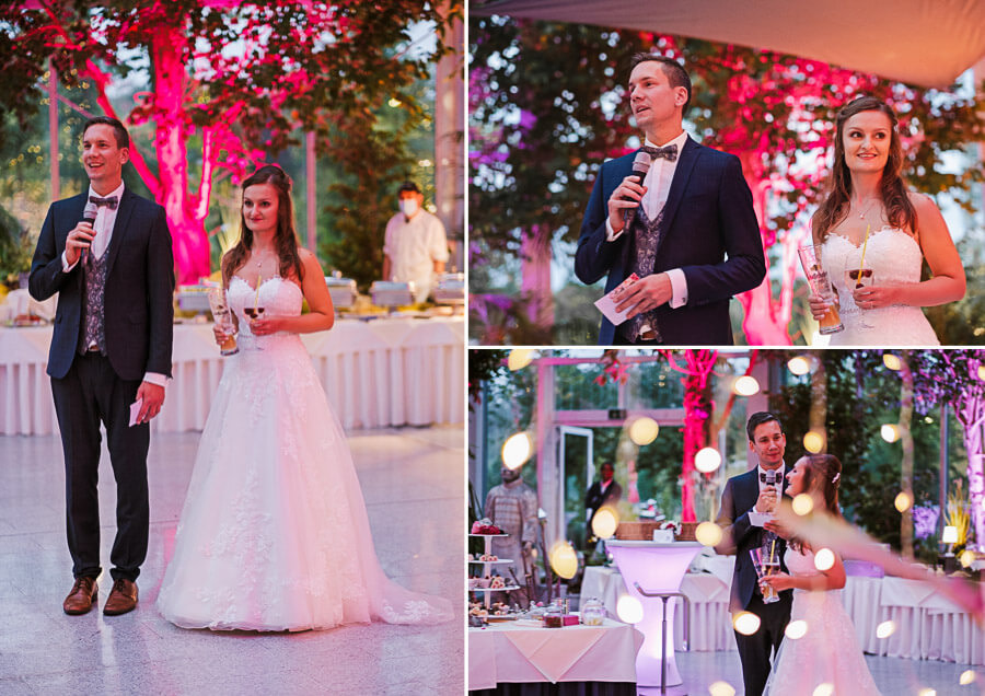 Rede Brautpaar Artrium Dietzenbach
